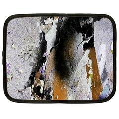 Abstract Graffiti Background Netbook Case (large) by Nexatart