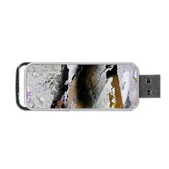Abstract Graffiti Background Portable Usb Flash (two Sides) by Nexatart