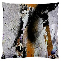 Abstract Graffiti Background Large Flano Cushion Case (two Sides)
