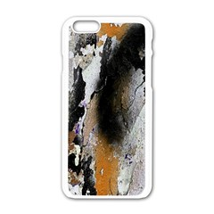 Abstract Graffiti Background Apple Iphone 6/6s White Enamel Case by Nexatart