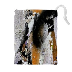Abstract Graffiti Background Drawstring Pouches (extra Large) by Nexatart