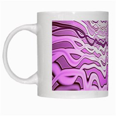 Light Pattern Abstract Background Wallpaper White Mugs by Nexatart