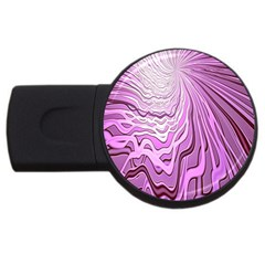 Light Pattern Abstract Background Wallpaper Usb Flash Drive Round (2 Gb)