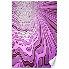 Light Pattern Abstract Background Wallpaper Canvas 24  X 36  by Nexatart