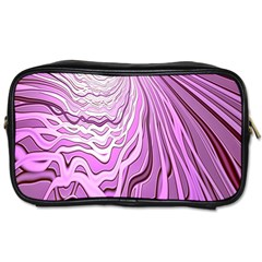 Light Pattern Abstract Background Wallpaper Toiletries Bags 2 Side by Nexatart