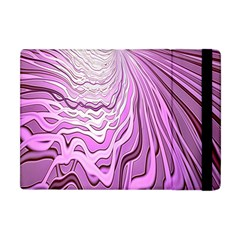 Light Pattern Abstract Background Wallpaper Apple Ipad Mini Flip Case