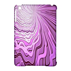 Light Pattern Abstract Background Wallpaper Apple Ipad Mini Hardshell Case (compatible With Smart Cover) by Nexatart
