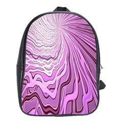 Light Pattern Abstract Background Wallpaper School Bags (xl)