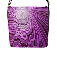 Light Pattern Abstract Background Wallpaper Flap Messenger Bag (l)