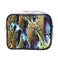 Background, Wallpaper, Texture Mini Toiletries Bags by Nexatart