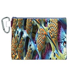 Background, Wallpaper, Texture Canvas Cosmetic Bag (xl) by Nexatart