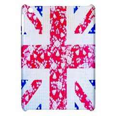 British Flag Abstract British Union Jack Flag In Abstract Design With Flowers Apple Ipad Mini Hardshell Case by Nexatart