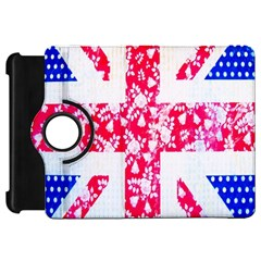 British Flag Abstract British Union Jack Flag In Abstract Design With Flowers Kindle Fire Hd 7