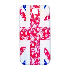 British Flag Abstract British Union Jack Flag In Abstract Design With Flowers Samsung Galaxy S4 I9500/i9505  Hardshell Back Case by Nexatart
