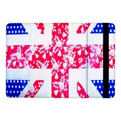 British Flag Abstract British Union Jack Flag In Abstract Design With Flowers Samsung Galaxy Tab Pro 10 1  Flip Case by Nexatart