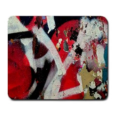 Abstract Graffiti Background Wallpaper Of Close Up Of Peeling Large Mousepads by Nexatart