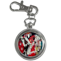 Abstract Graffiti Background Wallpaper Of Close Up Of Peeling Key Chain Watches by Nexatart