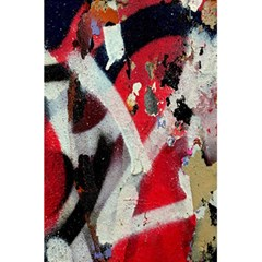 Abstract Graffiti Background Wallpaper Of Close Up Of Peeling 5 5  X 8 5  Notebooks by Nexatart