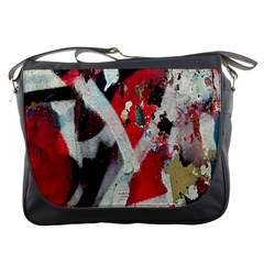 Abstract Graffiti Background Wallpaper Of Close Up Of Peeling Messenger Bags by Nexatart