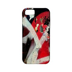 Abstract Graffiti Background Wallpaper Of Close Up Of Peeling Apple Iphone 5 Classic Hardshell Case (pc+silicone)