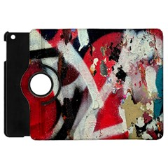 Abstract Graffiti Background Wallpaper Of Close Up Of Peeling Apple Ipad Mini Flip 360 Case