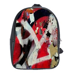 Abstract Graffiti Background Wallpaper Of Close Up Of Peeling School Bags (xl)