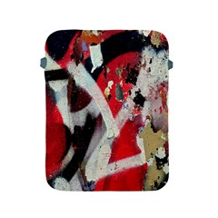 Abstract Graffiti Background Wallpaper Of Close Up Of Peeling Apple Ipad 2/3/4 Protective Soft Cases