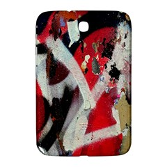 Abstract Graffiti Background Wallpaper Of Close Up Of Peeling Samsung Galaxy Note 8 0 N5100 Hardshell Case