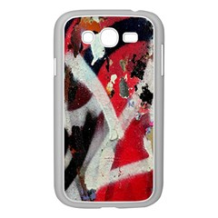 Abstract Graffiti Background Wallpaper Of Close Up Of Peeling Samsung Galaxy Grand Duos I9082 Case (white)