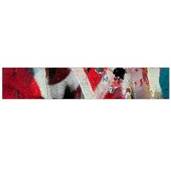 Abstract Graffiti Background Wallpaper Of Close Up Of Peeling Flano Scarf (large)