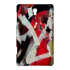 Abstract Graffiti Background Wallpaper Of Close Up Of Peeling Samsung Galaxy Tab S (8 4 ) Hardshell Case  by Nexatart