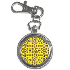 Yellow Seamless Wallpaper Digital Computer Graphic Key Chain Watches