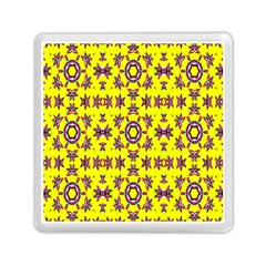 Yellow Seamless Wallpaper Digital Computer Graphic Memory Card Reader (square)  by Nexatart