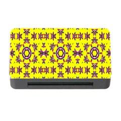 Yellow Seamless Wallpaper Digital Computer Graphic Memory Card Reader With Cf by Nexatart