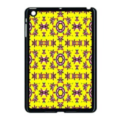 Yellow Seamless Wallpaper Digital Computer Graphic Apple Ipad Mini Case (black) by Nexatart