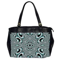 Kaleidoskope Digital Computer Graphic Office Handbags (2 Sides)  by Nexatart