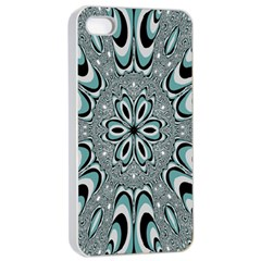 Kaleidoskope Digital Computer Graphic Apple Iphone 4/4s Seamless Case (white)