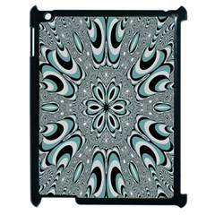 Kaleidoskope Digital Computer Graphic Apple Ipad 2 Case (black) by Nexatart