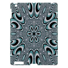 Kaleidoskope Digital Computer Graphic Apple Ipad 3/4 Hardshell Case by Nexatart