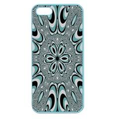 Kaleidoskope Digital Computer Graphic Apple Seamless Iphone 5 Case (color)