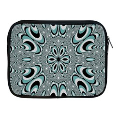 Kaleidoskope Digital Computer Graphic Apple Ipad 2/3/4 Zipper Cases by Nexatart