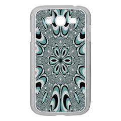 Kaleidoskope Digital Computer Graphic Samsung Galaxy Grand Duos I9082 Case (white)
