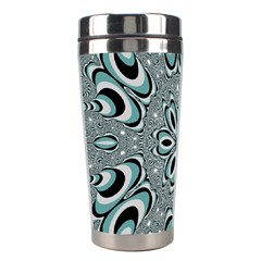 Kaleidoskope Digital Computer Graphic Stainless Steel Travel Tumblers by Nexatart