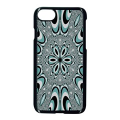 Kaleidoskope Digital Computer Graphic Apple Iphone 7 Seamless Case (black) by Nexatart