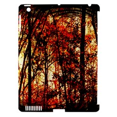 Forest Trees Abstract Apple Ipad 3/4 Hardshell Case (compatible With Smart Cover) by Nexatart