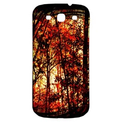 Forest Trees Abstract Samsung Galaxy S3 S Iii Classic Hardshell Back Case by Nexatart