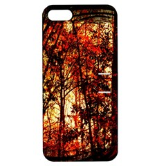 Forest Trees Abstract Apple Iphone 5 Hardshell Case With Stand by Nexatart