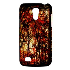 Forest Trees Abstract Galaxy S4 Mini by Nexatart