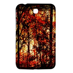 Forest Trees Abstract Samsung Galaxy Tab 3 (7 ) P3200 Hardshell Case
