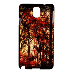 Forest Trees Abstract Samsung Galaxy Note 3 N9005 Hardshell Case by Nexatart